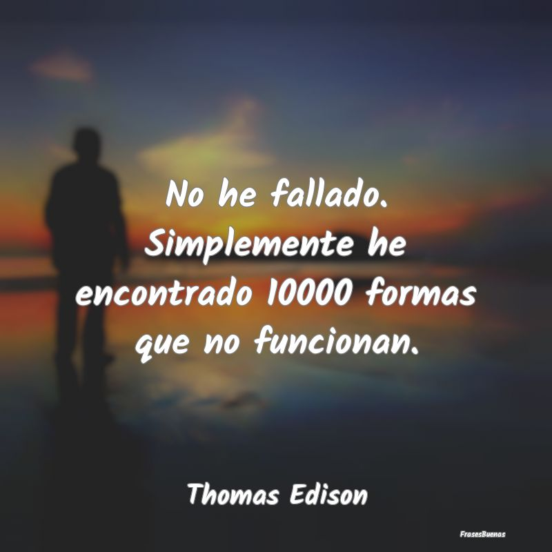 No he fallado. Simplemente he encontrado 10000 for...