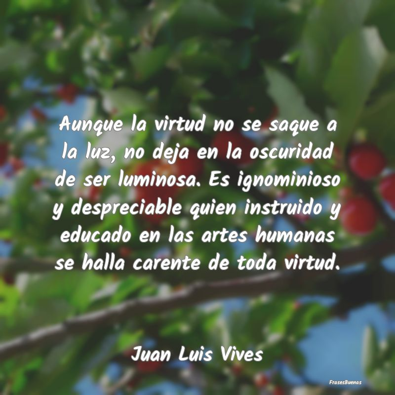 Frases De Juan Luis Vives